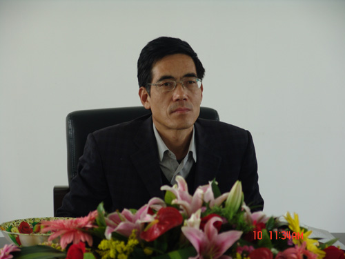 甘肃省招生办公室王德安主任来我院检查指导工作